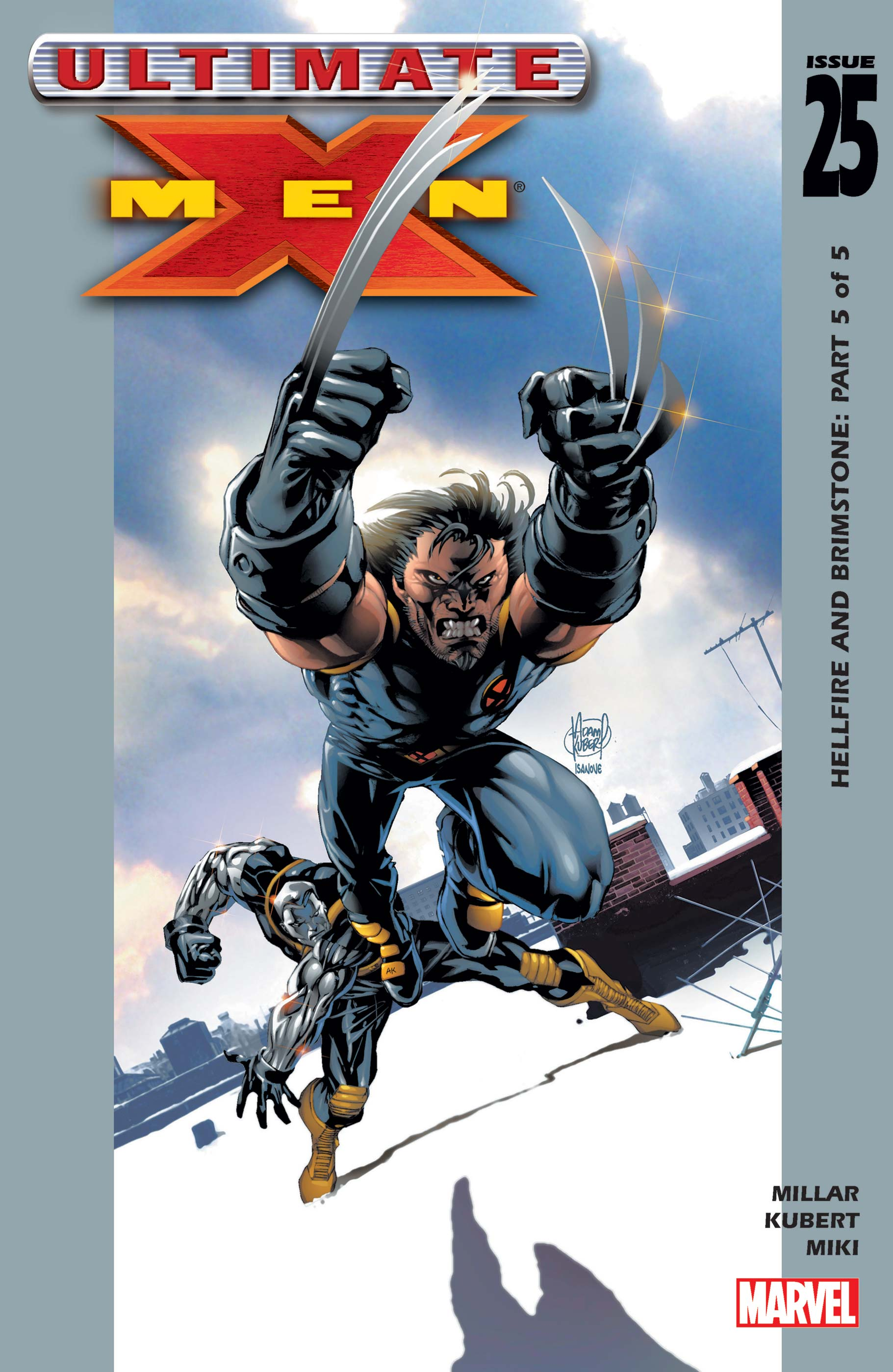 Ultimate X-Men (2000) #25