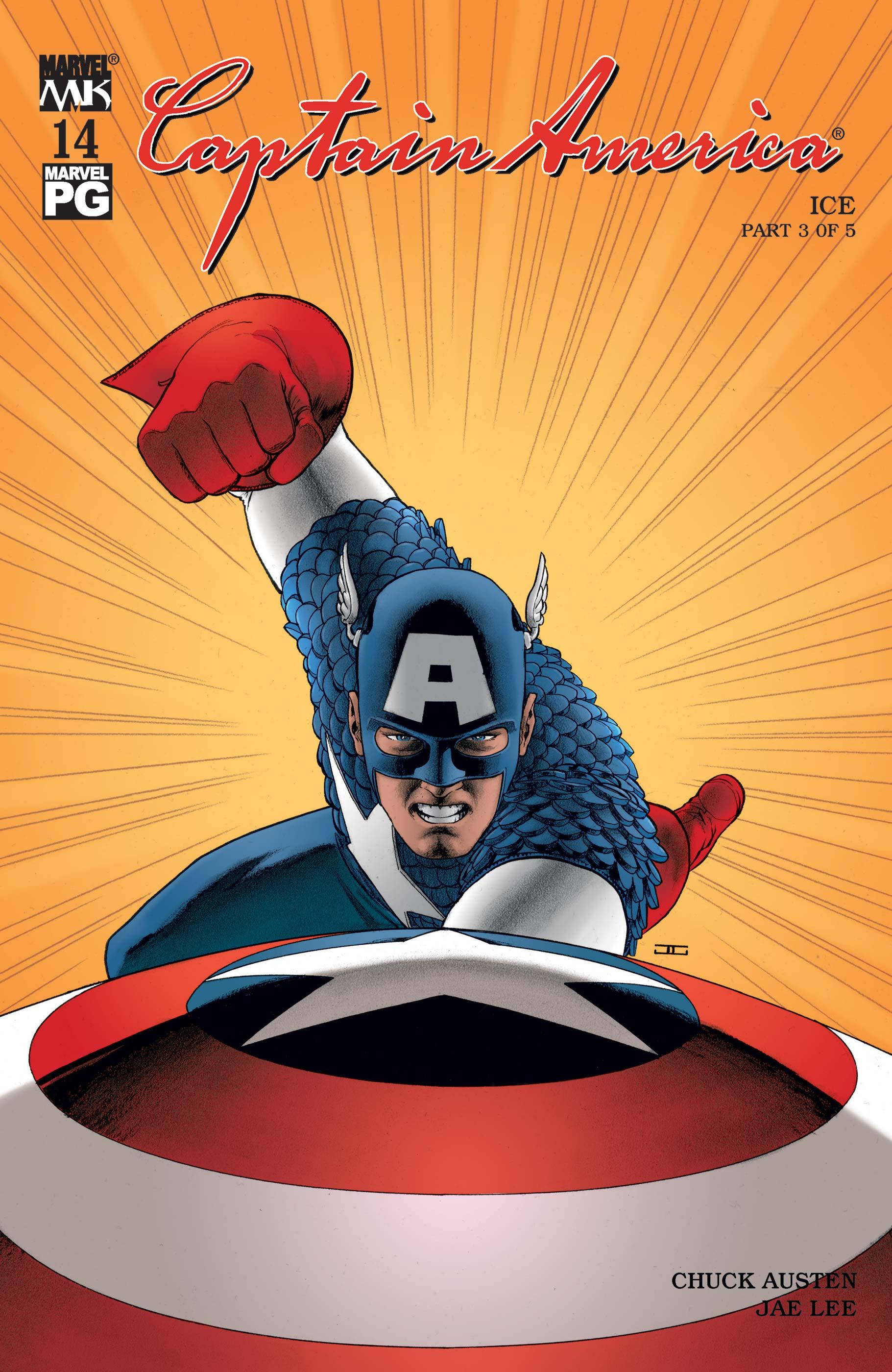 Captain America (2002) #14