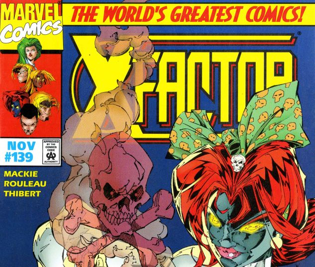 X-Factor (1986) #139