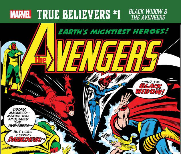 TRUE BELIEVERS: BLACK WIDOW & THE AVENGERS 1 #1