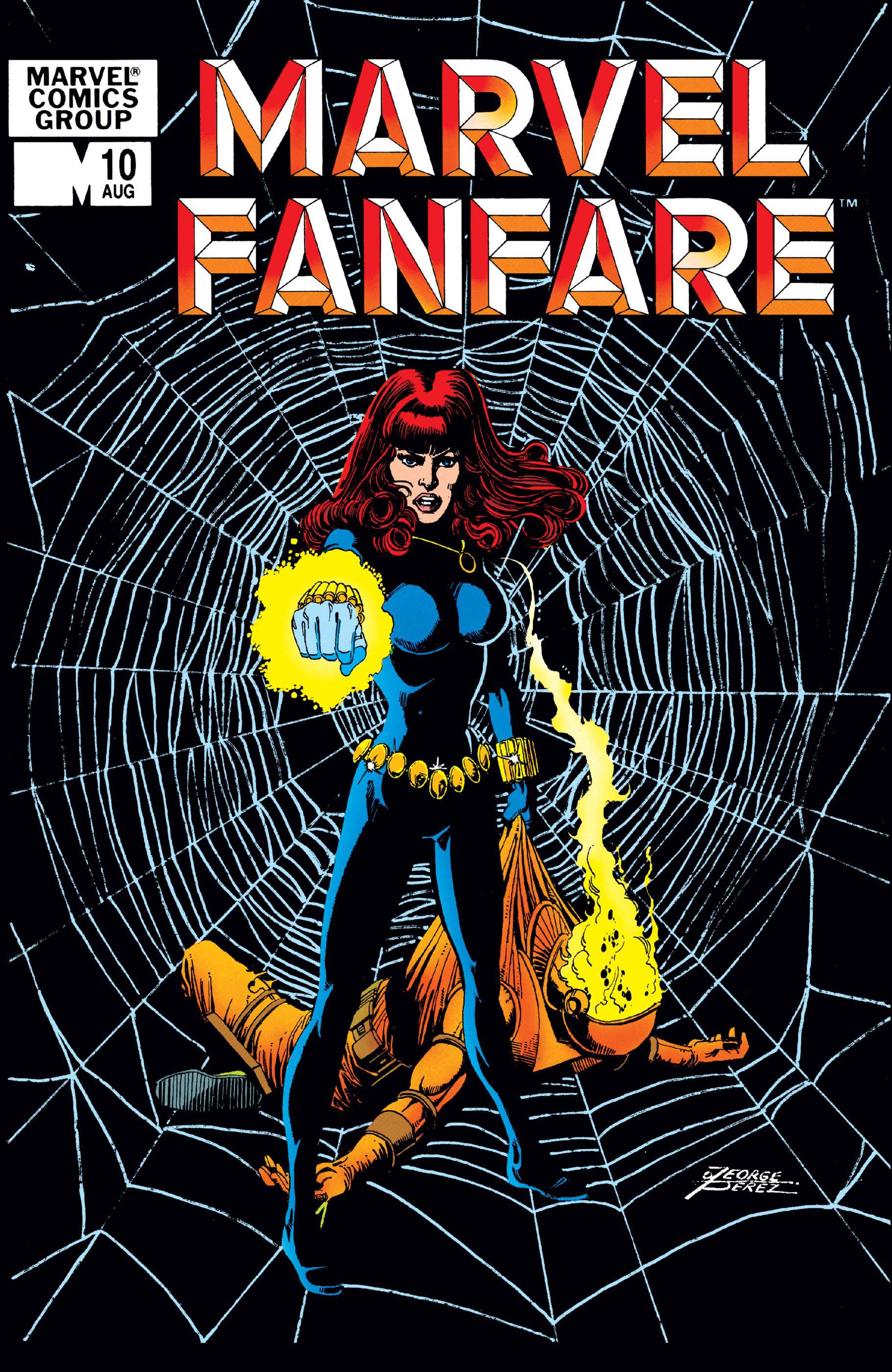 Marvel Fanfare (1982) #10