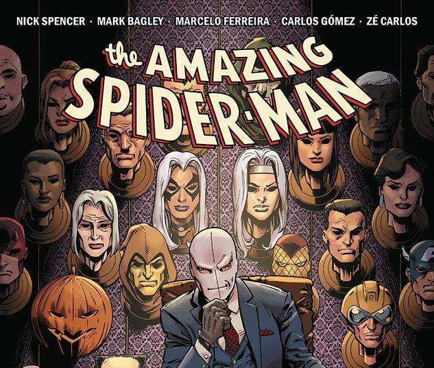 AMAZING SPIDER-MAN BY NICK SPENCER VOL. 14: CHAMELEON CONSPIRACY TPB #14
