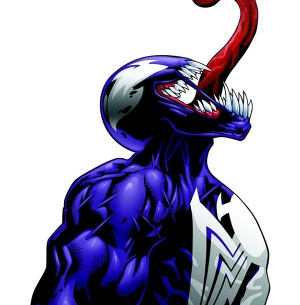 Ultimate spiderman venom cartoon