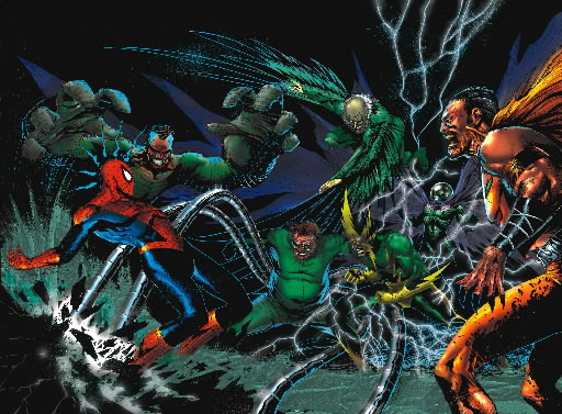 Image Gallery sinister 6 members