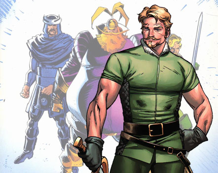 Fandral The Dashing Thor 2 Fandral - Marvel Unive...
