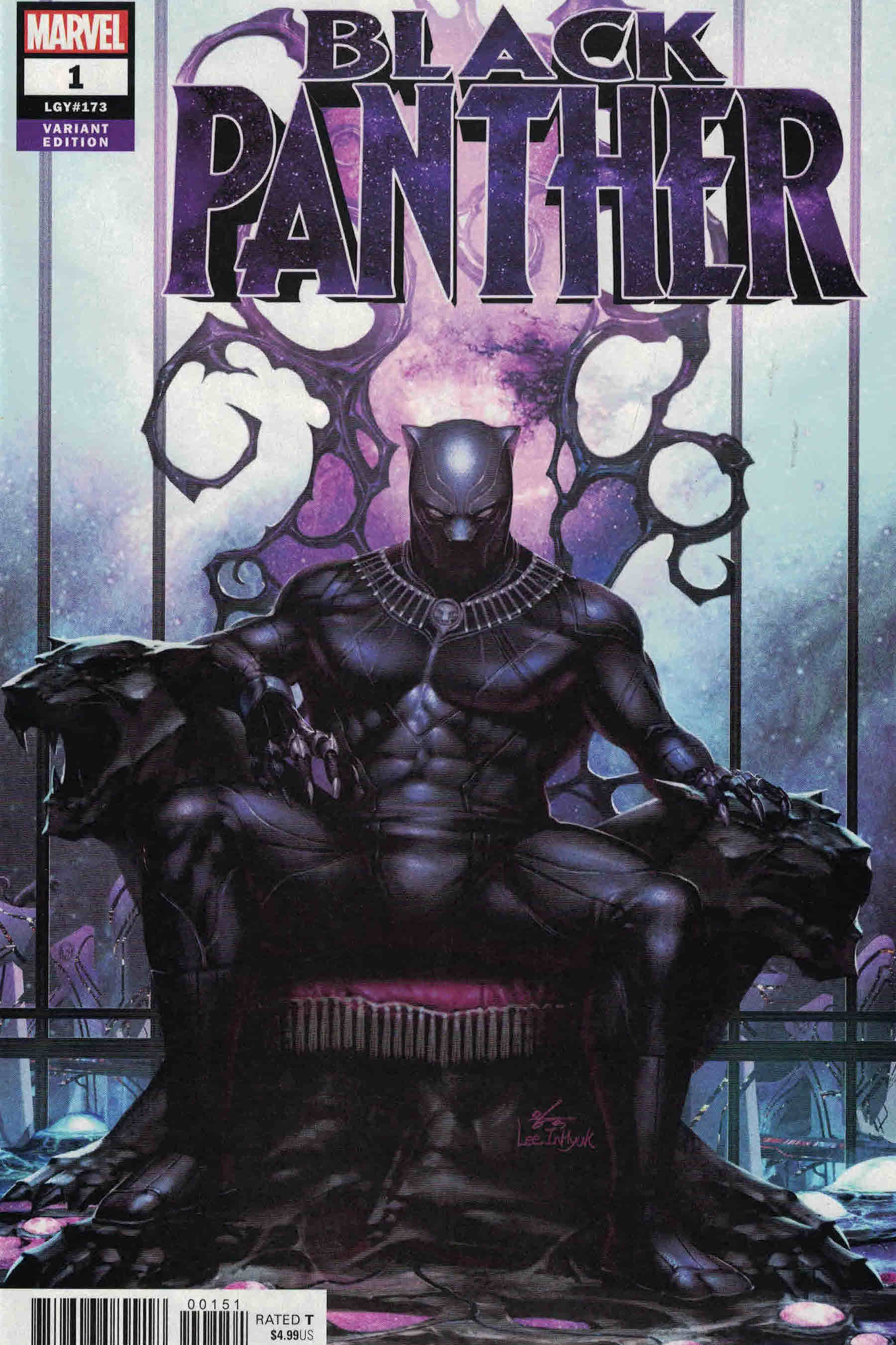 Kwity Paye by Sean Chen and Lee Duhig, after BLACK PANTHER #1 by InHyuk Lee