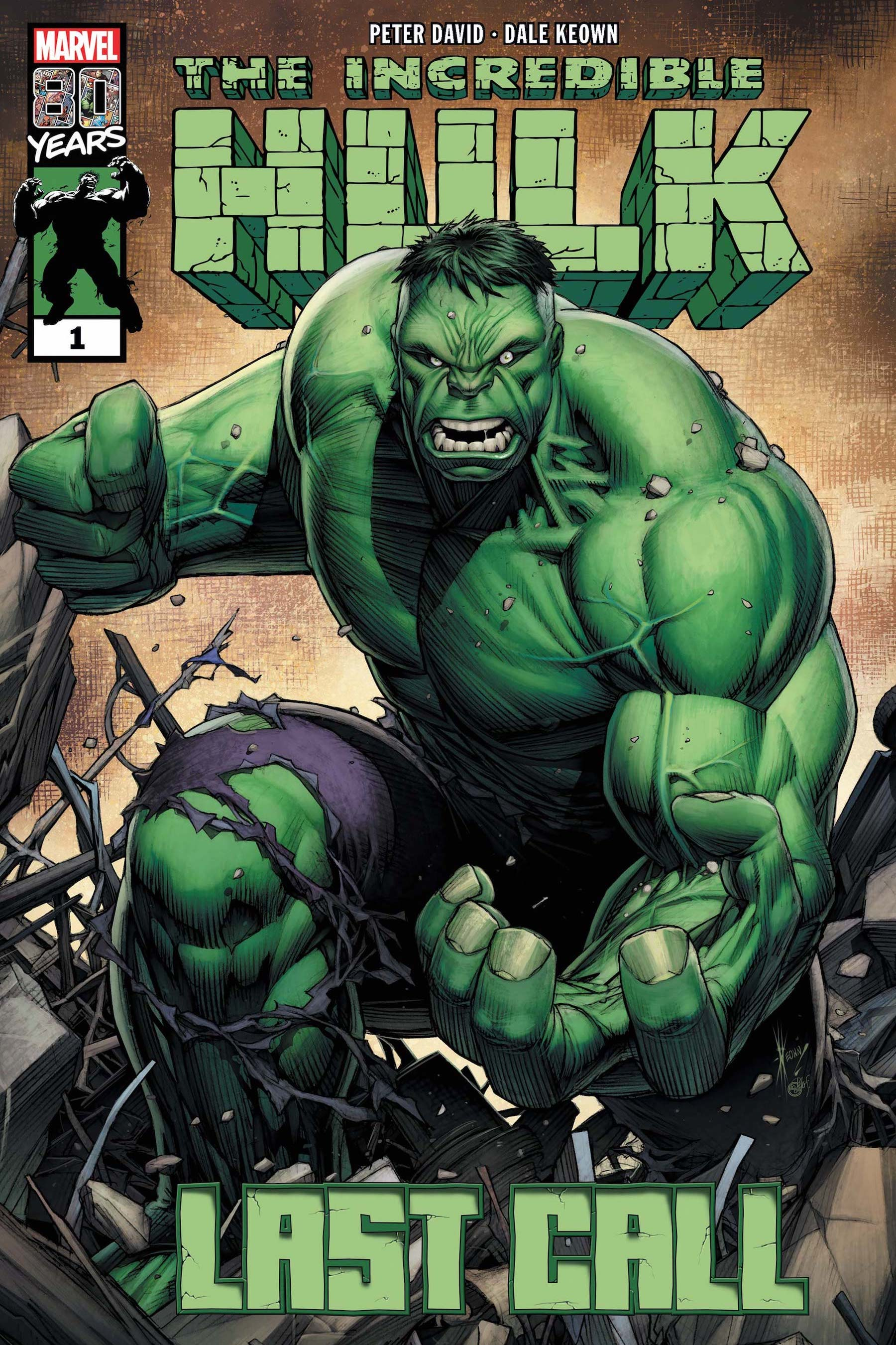 Jeremiah Owusu-Koramoah by Ron Lim, Roberto Poggi, and Wil Quintana, after INCREDIBLE HULK: LAST CALL #1 by Dale Keown