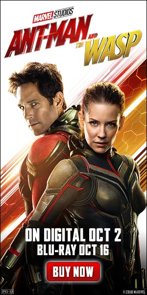Own Ant-Man And The Wasp On Digital October 12, Blu-Ray October 16